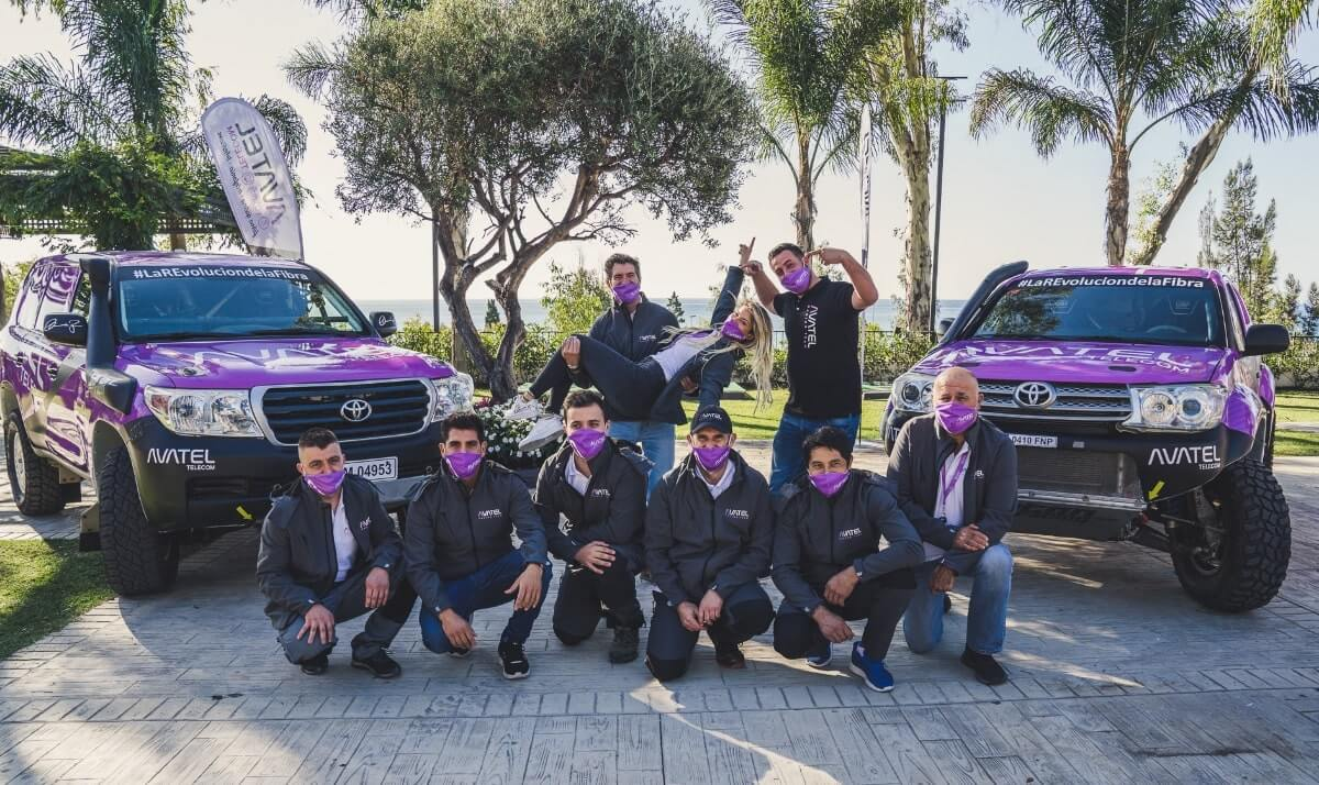 avatel racing team rally andalucia